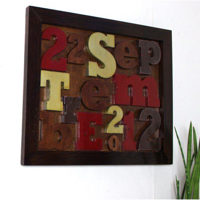 tableau de lettres. Black Bedroom Furniture Sets. Home Design Ideas