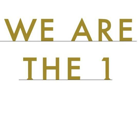 Commande personnalisée: We are the 1.